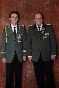 Geschäftsführer Stefan Schulte mit Stellvertreter Rolf Wolter