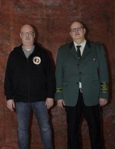 Sportleiter Jörg Steinhoff Bataillonsschießwart Andreas Funke